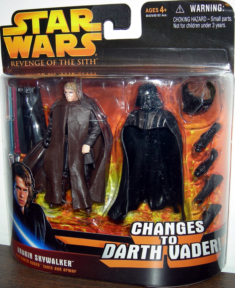 Anakin Skywalker Figure Revenge Sith Star Wars Changes Darth Vader