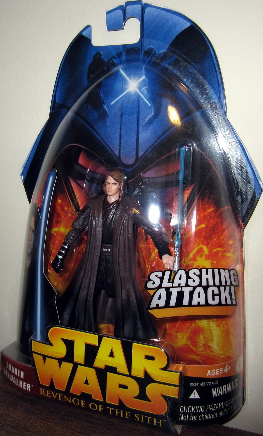 Anakin Skywalker Figure Revenge Sith 28 Red Yellow Eyes Star Wars