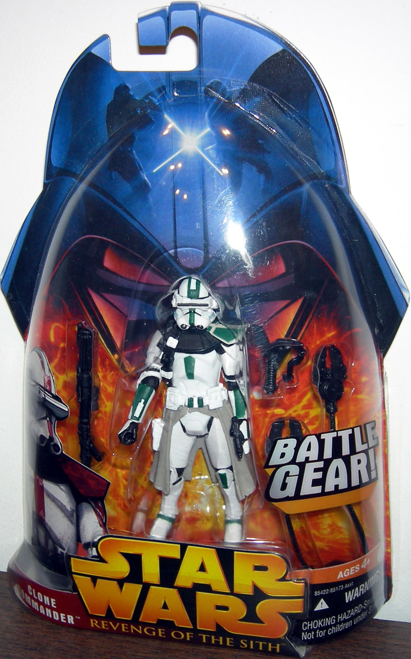 Clone Commander Figure Revenge Sith 33 Sergeant Star Wars