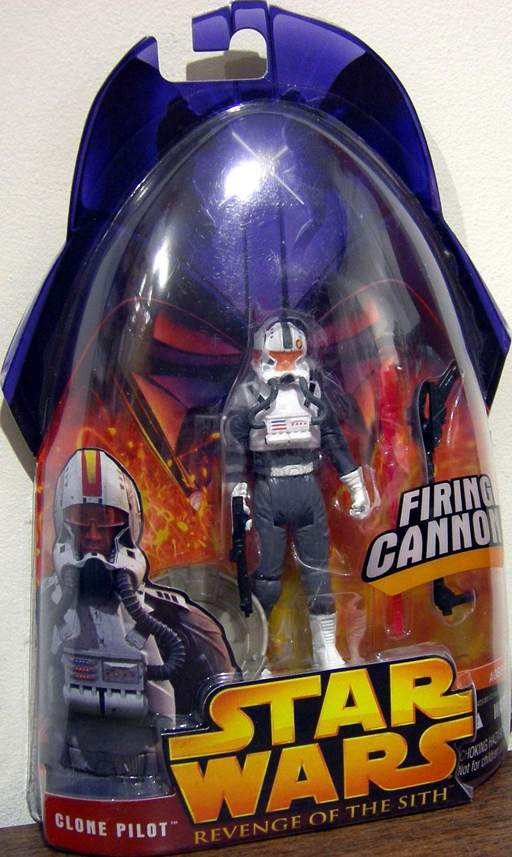 Clone Pilot Figure Revenge Sith 34 Star Wars Revenge Sith