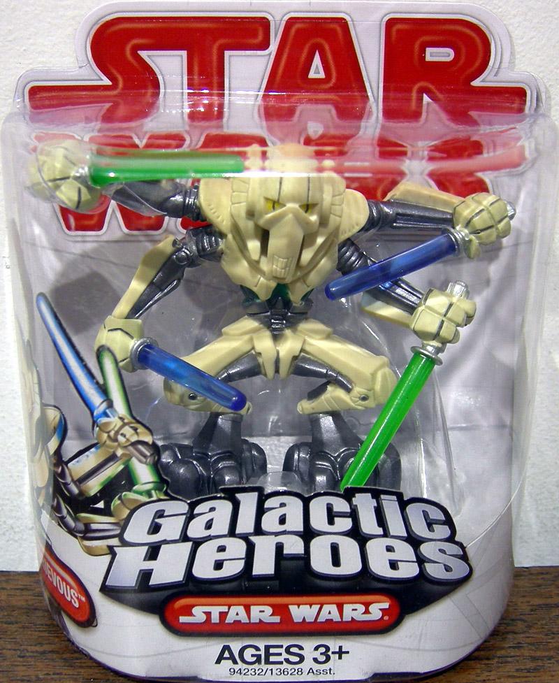 Hasbro Playskool Star Wars Galactic Heroes General grievous 2.5/'/' Action Figure