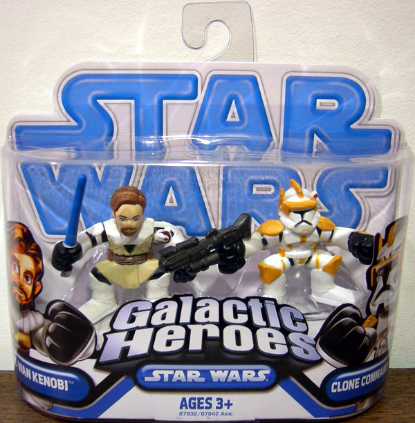 "STAR Wars Eroi Galattici Galaxy 2/"" Figura-Clone Trooper Commander Cody"