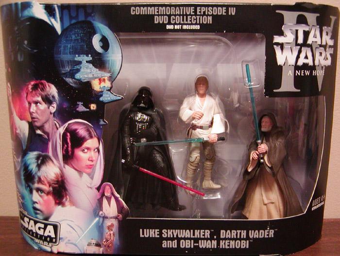 Commemorative Episode Iv Dvd Saga Collection Star Wars Action Figures