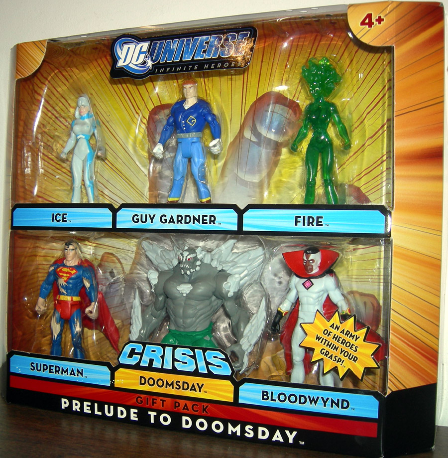 Prelude Doomsday 6 Pack Infinite Heroes Crisis Action Figures