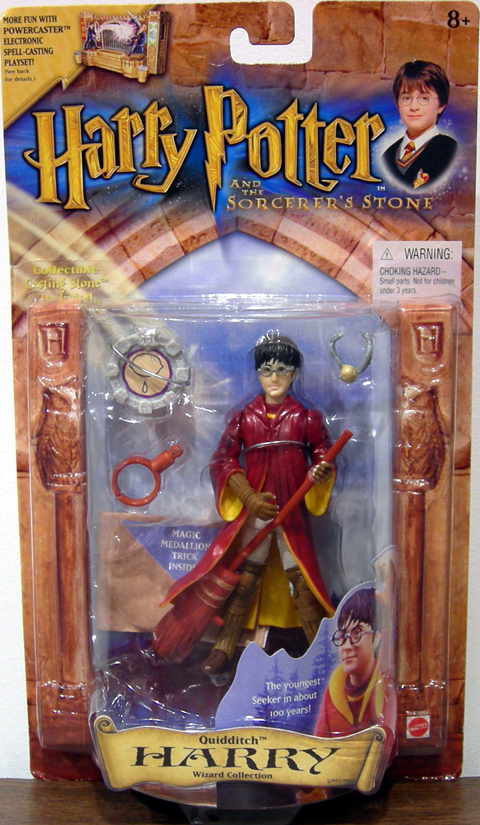 Harry Potter Collector Figure Doll HARRY Potter Quiddith Golden Snitch