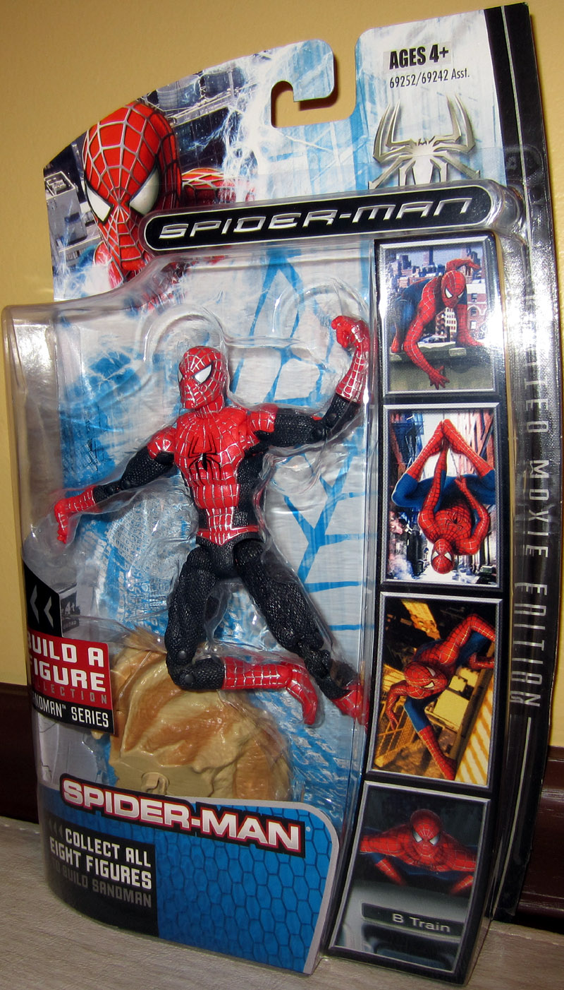 Red Spider-Man Sandman Series Action Figure Hasbro