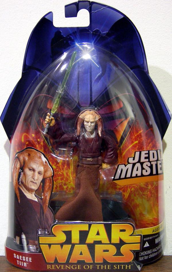 Saesee Tiin Figure Jedi Master Revenge Sith 30 Star Wars