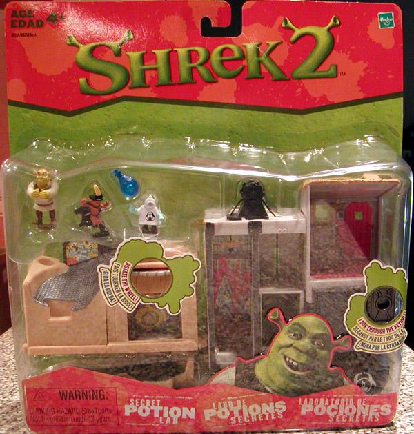 Secret Potion Lab Shrek 2 Action Figures