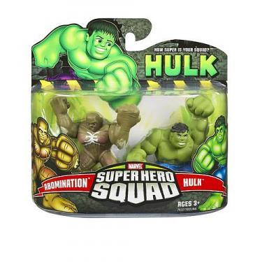 Abomination vs Hulk (Super Hero Squad)