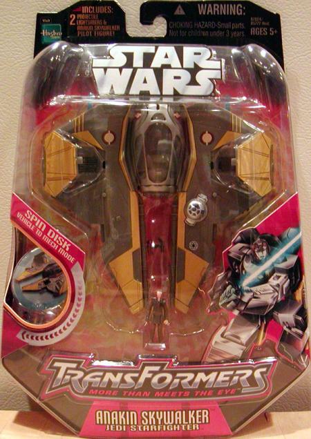 Anakin Skywalker Jedi Starfighter (Transformers)