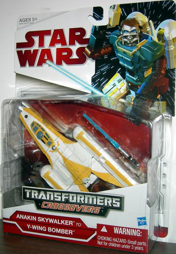 Anakin Skywalker to Y-Wing Bomber (Transformers Crossovers)