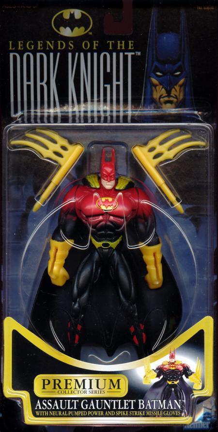 Assault Gauntlet Batman (Legends Of The Dark Knight)