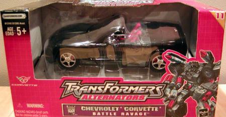 Chevrolet Corvette Battle Ravage Alternator