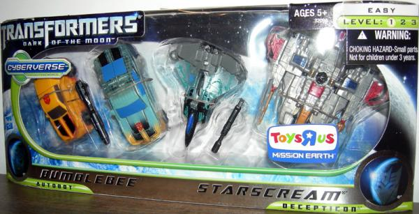 Bumblebee & Starscream 4-Pack (Toys R Us Exclusive)