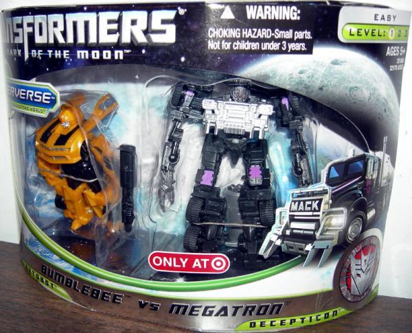 Bumblebee vs Megatron (Target Exclusive)
