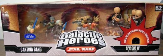 Star Wars Galactic Heroes Figure Cantina Bar Patron Alien