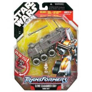 Clone Commander Cody Turbo Tank (Transformers)