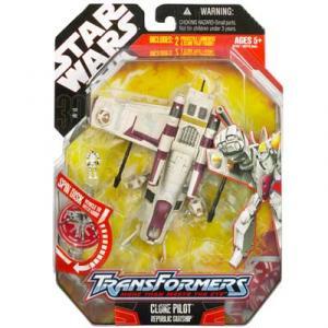 Clone Pilot Republic Gunship (Transformers)