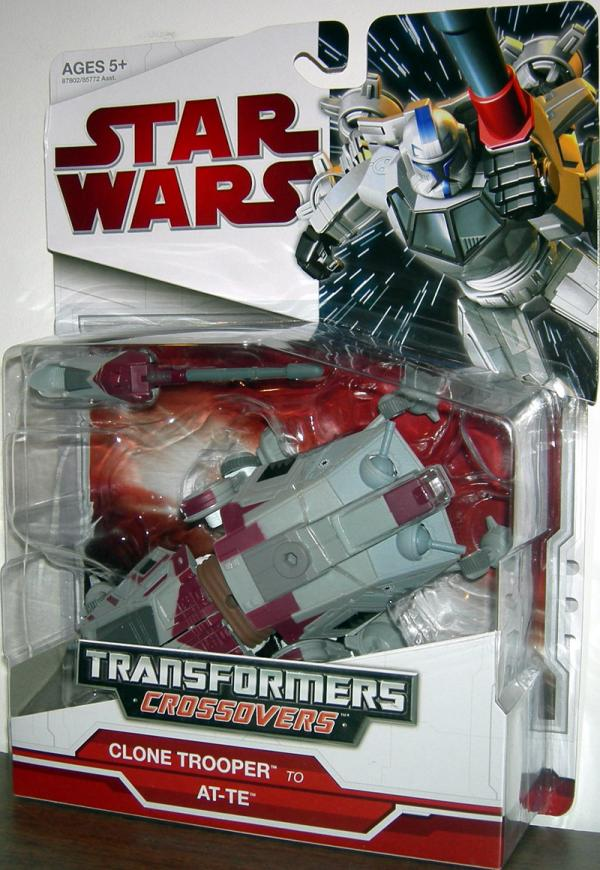 Clone Trooper to AT-TE (Transformers Crossovers)