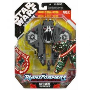 Darth Vader Sith Starfighter (Transformers)