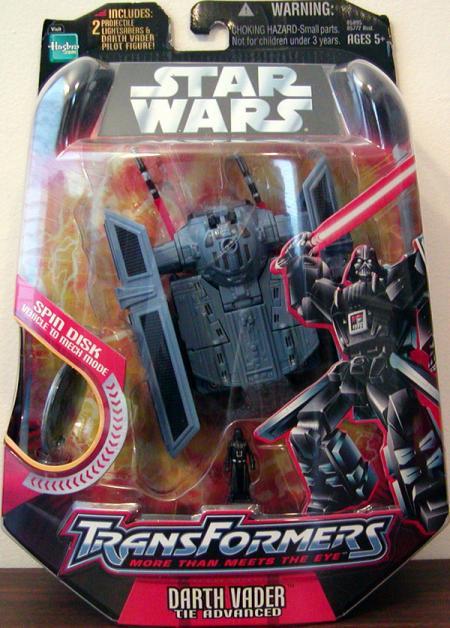Darth Vader TIE Advanced (Transformers)