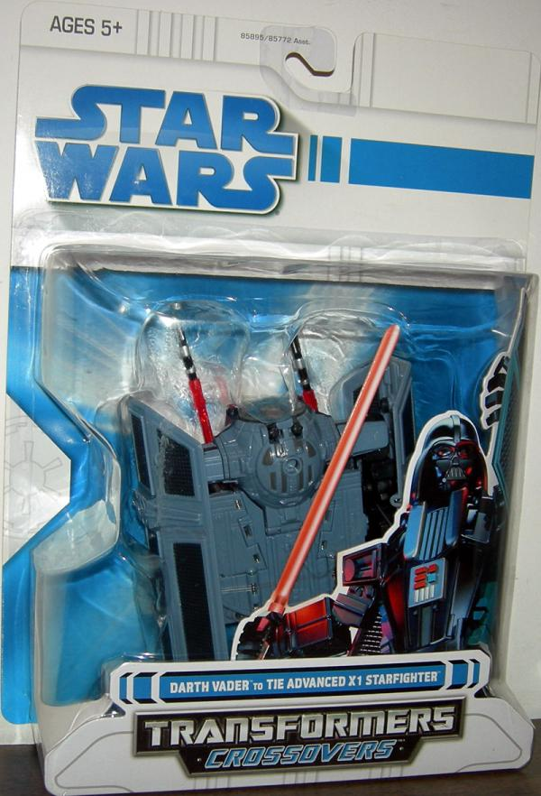 Darth Vader to TIE Advanced X1 Starfighter