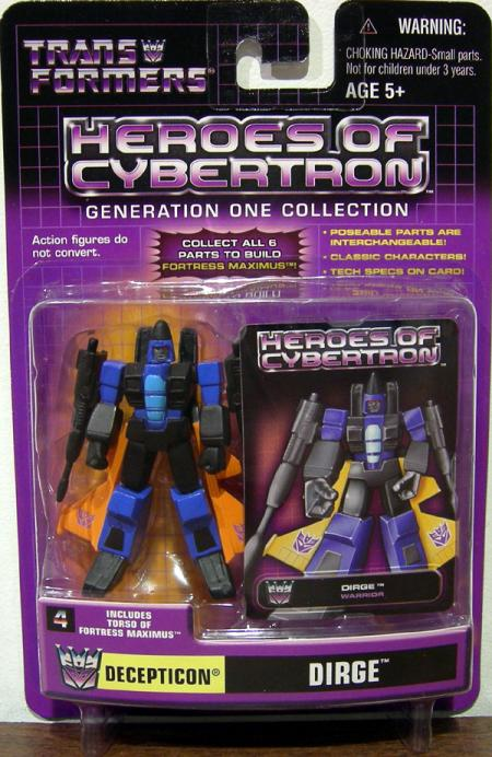 Dirge (Heroes of Cybertron)