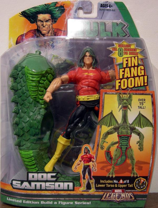 Doc Samson (Marvel Legends Fin Fang Foom series)