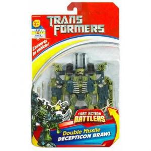 Double Missile Decipton Brawl (Fast Action Battlers)