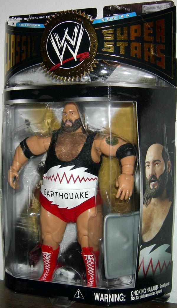 Earthquake (with real hair)