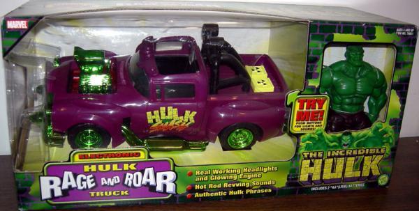 Electronic Hulk Rage and Roar Truck