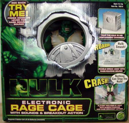 Hulk Electronic Rage Cage (movie)