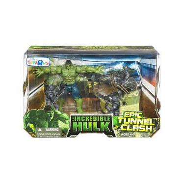 The Incredible Hulk Epic Tunnel Clash Battle Pack