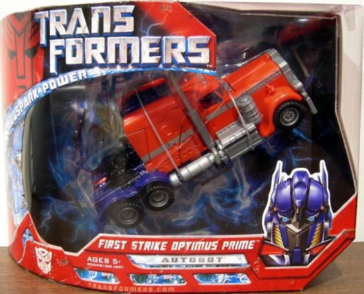 First Strike Optimus Prime (Voyager Class)