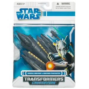 General Grievous to Grievous Starfighter (Transformers Crossovers)