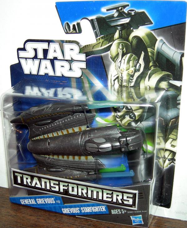 General Grievous to Grievous' Starfighter (Transformers)