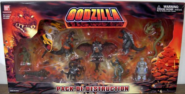 Godzilla Pack of Destruction