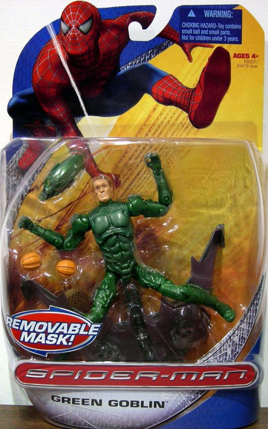 Green Goblin (With Removable Mask, Trilogy)