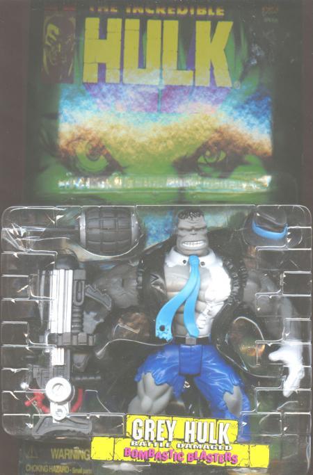 Grey Hulk (Battle Damaged)