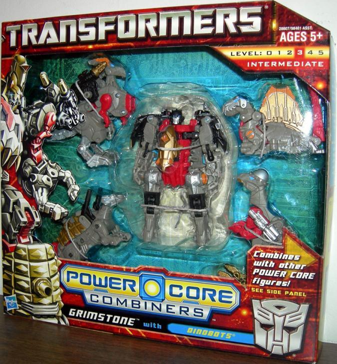 Commander Grimstone with Dinobots (Power Core Combiner)