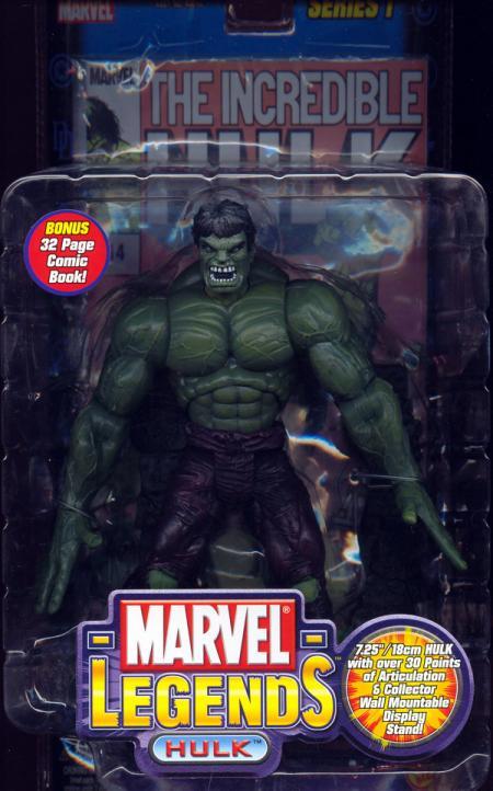 Hulk (Marvel Legends, bendy hands)