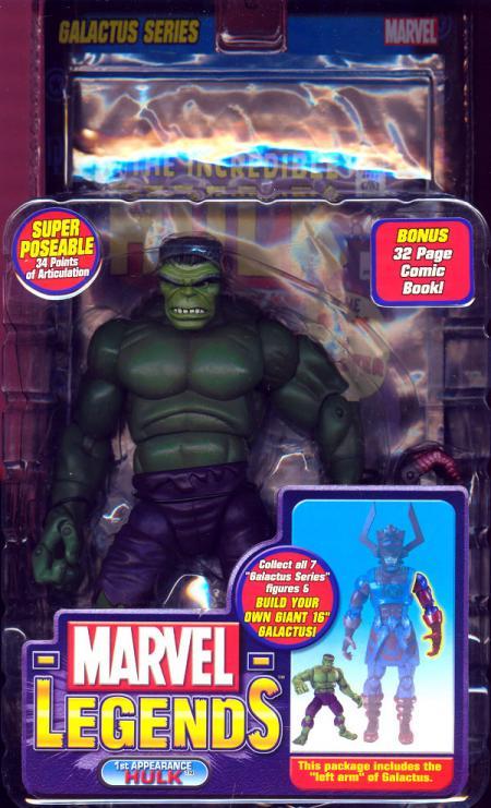 1st Appearance Hulk (Marvel Legends, Galactus Series)