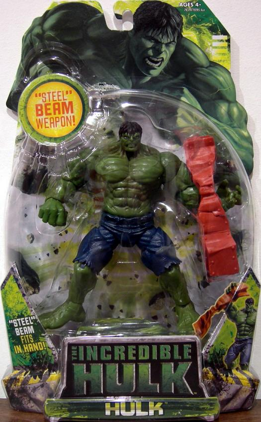 Hulk (with steel beam weapon)