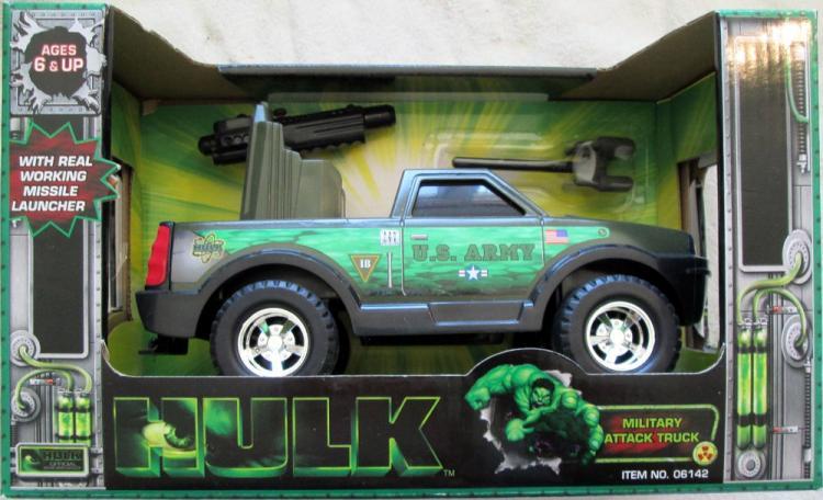 Hulk Military Attack Truck