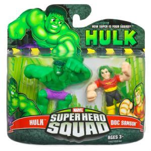 Hulk & Doc Samson (Super Hero Squad)