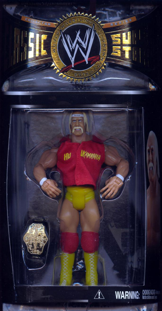 Hulk Hogan (series 8 with 1985 WWF Championship Belt)