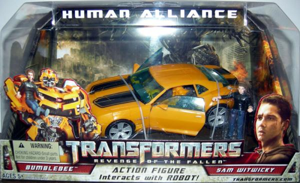 Human Alliance (Bumblebee and Sam Witwicky)