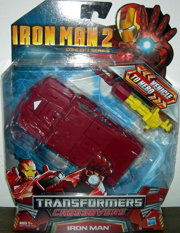 Armored 4x4 Iron Man (Transformers Crossovers, Iron Man 2)