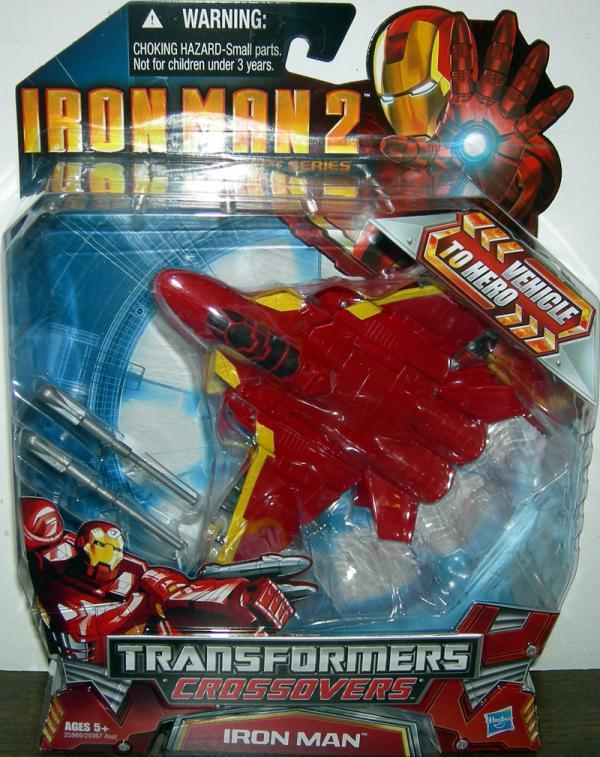 Fighter Jet Iron Man (Transformers Crossovers, Iron Man 2)