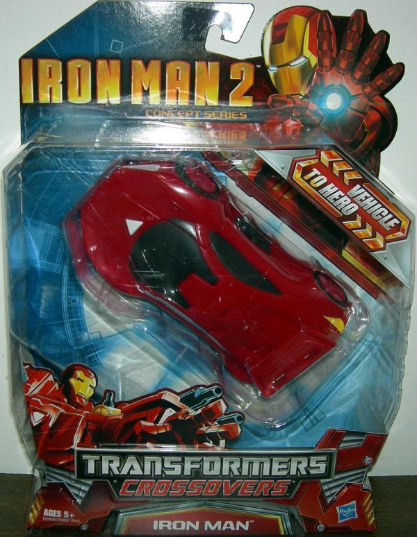 Race Car Iron Man (Transformers Crossovers, Iron Man 2)